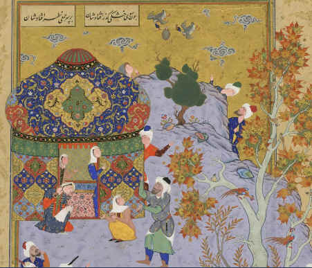 Look, Ma, no hands! From Lajla and Majnun
